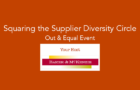 Sept 22 Out and Equal event hosted by Baker McKenzie